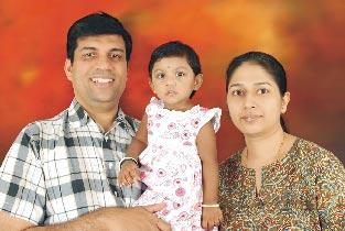 Anand Kumar Family